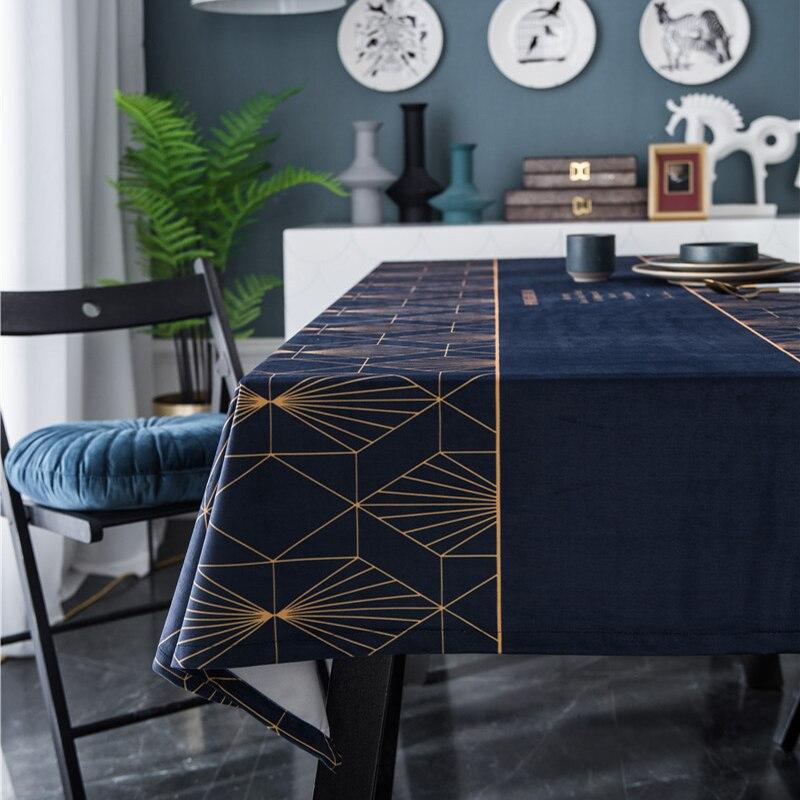 Mantel Rectangular para mesa de comedor, cubierta para mesa Rectangular de tela,...