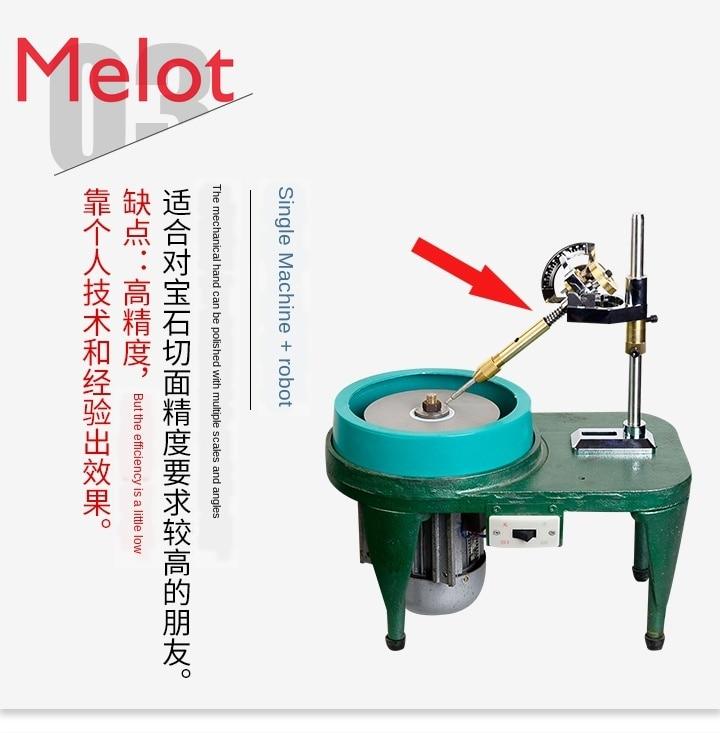 Jade Ring Gem Angle Machine Polishing Tool Polishing Machine Flat Grinding Machine Grinding Machine Gem Processing Machine enlarge