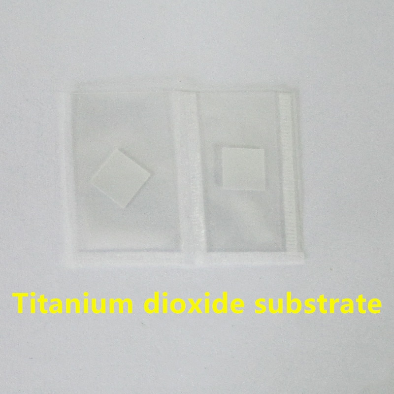 Sustrato de dióxido de titanio/sustrato TiO2/cristal único TiO2/se puede utilizar como sustrato/oblea Epitaxial/Scientific rese