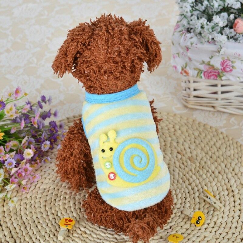 2017 Outono/Inverno Dos Desenhos Animados Coats Jacket Lã Macia e Quente a Roupa Do Cão Filhote de Cachorro Do Gato do animal de Estimação para o Cão Pequeno Chihuahua Roupas vestuário casaco