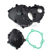 Pour Kawasaki Ninja ZX6R ZX-6R ZX600 2009-2012 moto générateur moteur carter Stator couverture deux kits avec joint