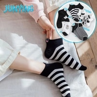creative cow boat socks harajuku casual student cotton combed of pure hip hop unisex personalized skateboard sox breathable