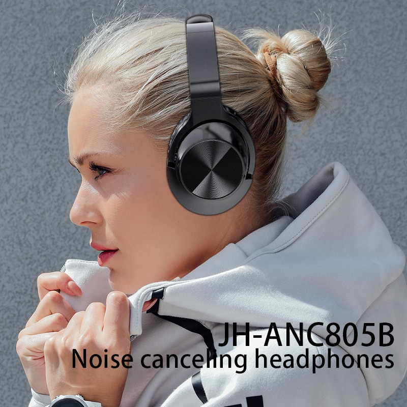 ANC Noise Cancelling Bluetooth Headphones Gaming Headset Wireless Earphones 7.1 Surround Sound Stereo With Mic For PS4 Phone PC enlarge