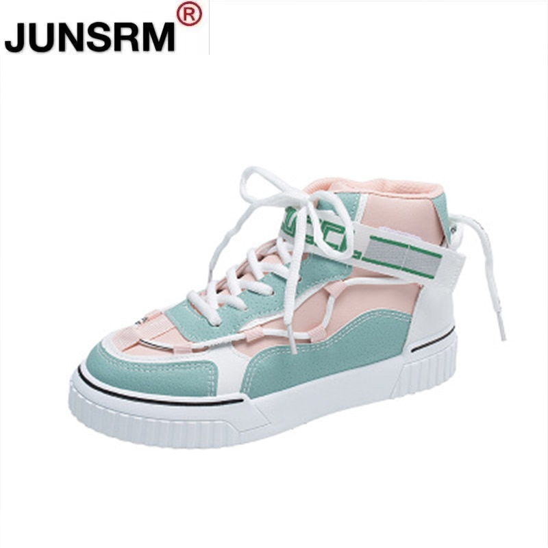 The New Autumn and winter women's shoes, high top shoes, outdoor warmth, flat bottom, non-slip, cold and wear-resistant ladies