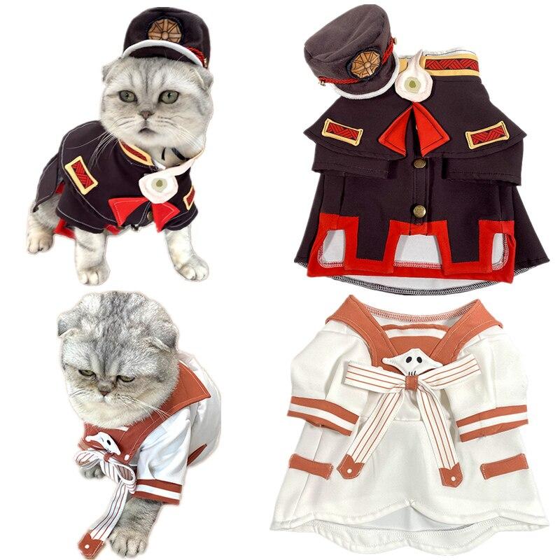 Japanese Anime Cos Animal Suit Cat Dog Toilet-Bound Hanako-kun Yugi Amane Nene Yashiro Cosplay Costume Pet Dress Drop Shipping
