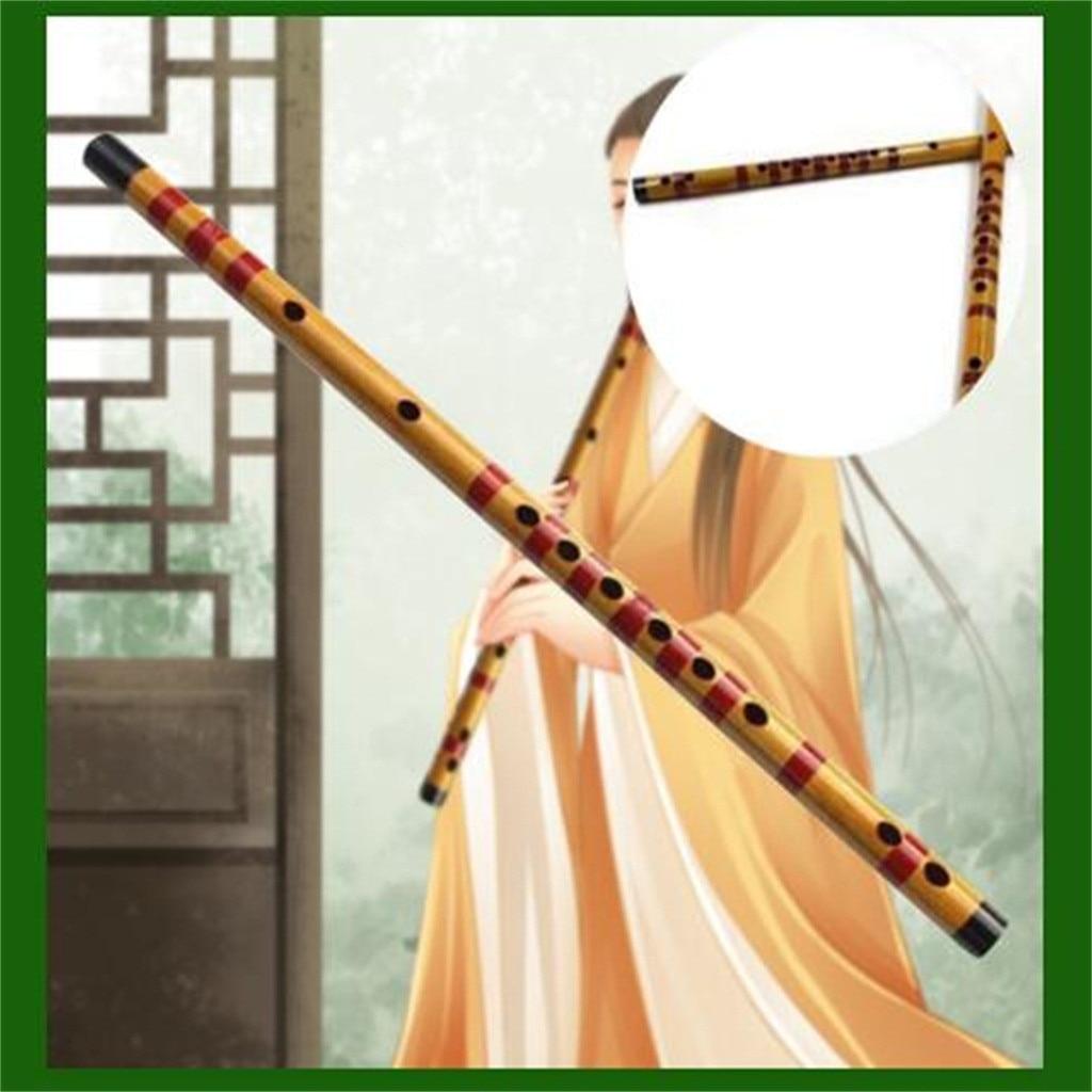 Flauta de bambú de alta calidad, Flauta de viento de madera profesional, instrumentos musicales hechos a mano, Flauta Transversal dizi China # y2