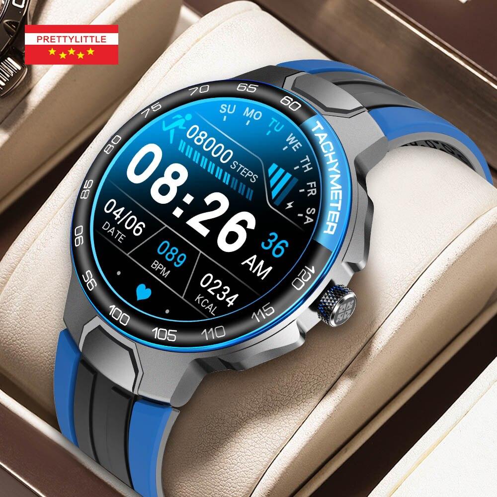 ساعة ذكية الرجال مخصص الهاتفي 3Atm مقاوم للماء بلوتوث الرياضة المقتفي كامل اللمس سوار 2021 ساعة ذكية جديدة لنظام أندرويد IOS