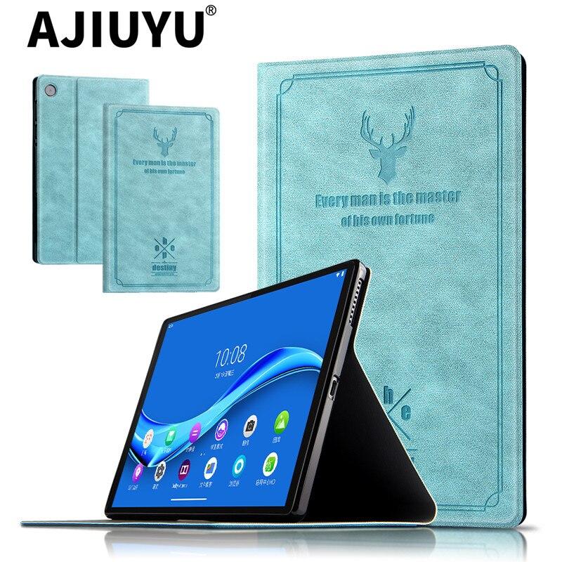 """Para Lenovo Tab M10 caso TB-606F TB-606X de la tableta de 10,3 pulgadas PU funda de soporte de cuero para Lenovo Tab M10 FHD Plus 10,3"""""""