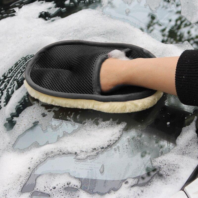 Автомобильный стайлинг-сырец мягкий перчатки для мытья автомобиля Чистящая Щетка мотоциклетная шайба средства по уходу за автомобильные и...