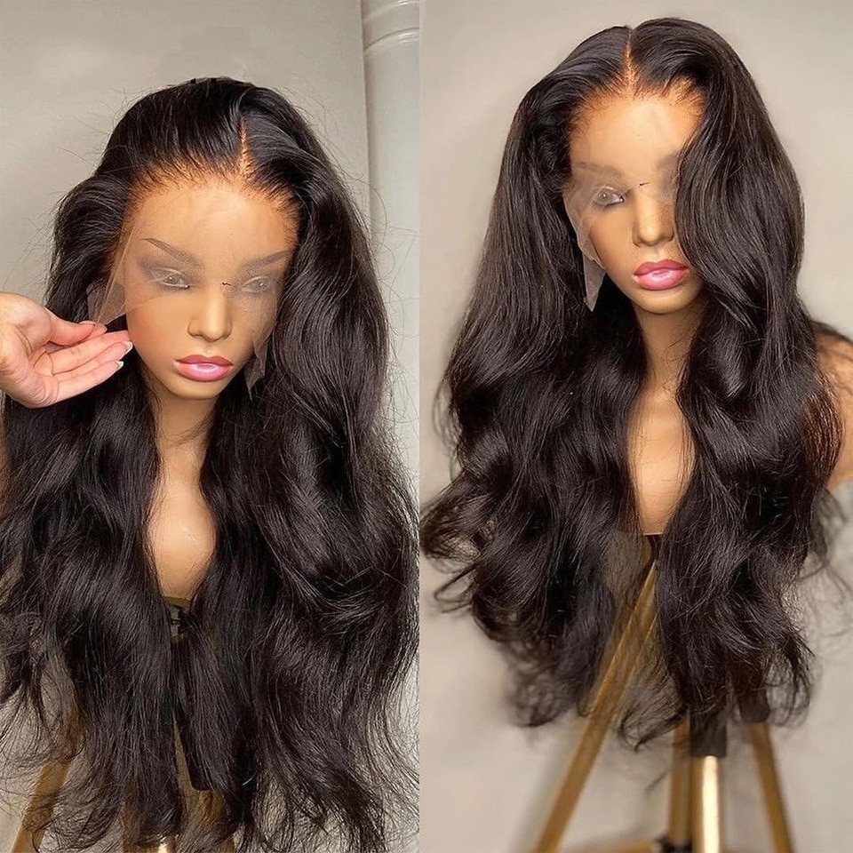 Body Wave Lace Front Human Hair Wigs Brazilian Wavy Lace Front Wig 13x4 Lace Frontal Wig Transparent Lace Wig On Sale