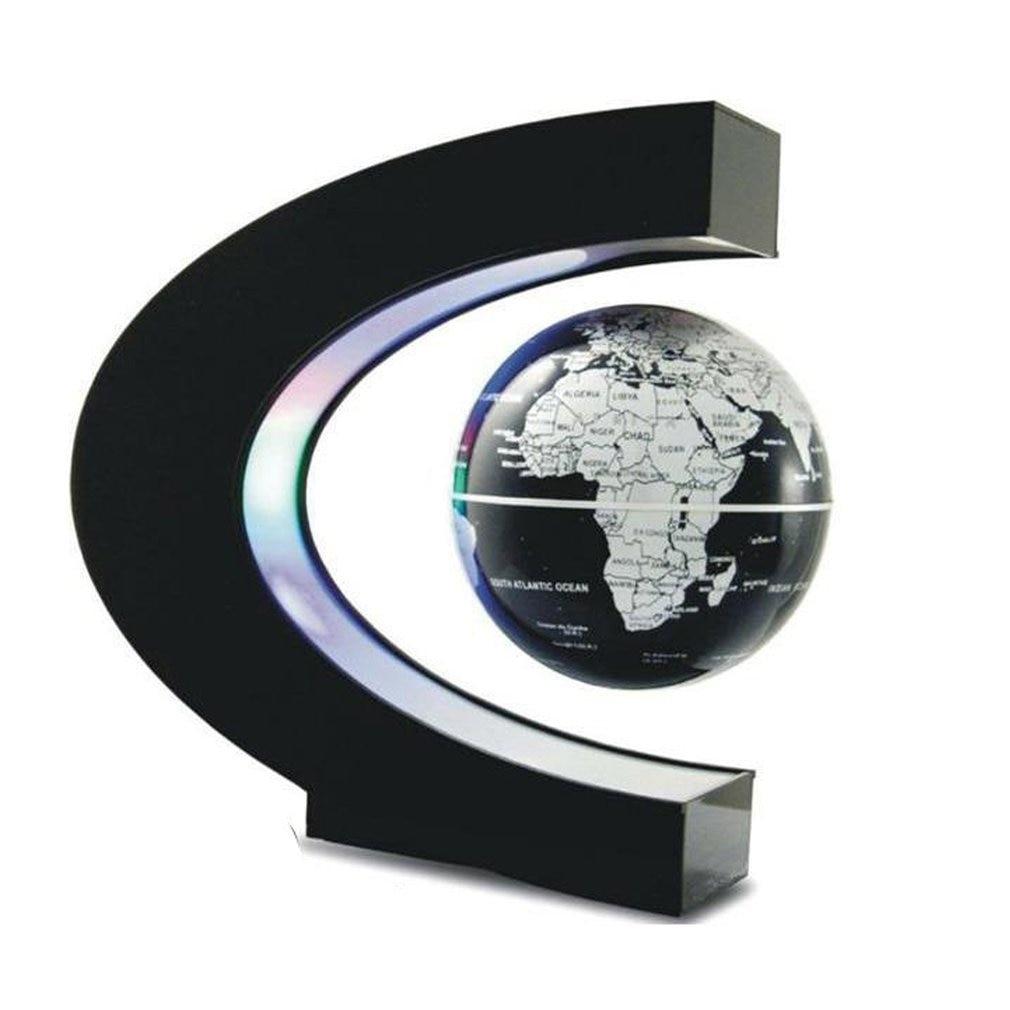 LED World Map Magnetic Levitation Floating Globe Night Light Office Home Electronic Anti Gravity Ball Lamp Novelty Decoration