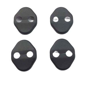 For Kia Sportage 3 MK3 III 2011 2012 2013 2014 Accessories Door Lock Cover Trim Plastic Black 4 Pcs