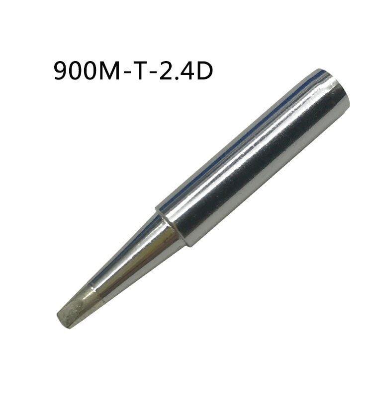 Gudhep 10 pces 900m pontas de ferro de solda 1.6d 2.4d 3.2d 1.2d 0.8d cinzel tipo pontas de solda para 936 estação de retrabalho de solda