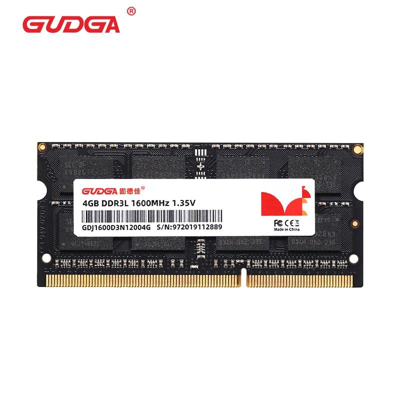 GUDGA-smartphone ddr3nb, 8 Gb, 4 Gb, 20 pines, SODIMM, 1600 Sodimm, Ram,...
