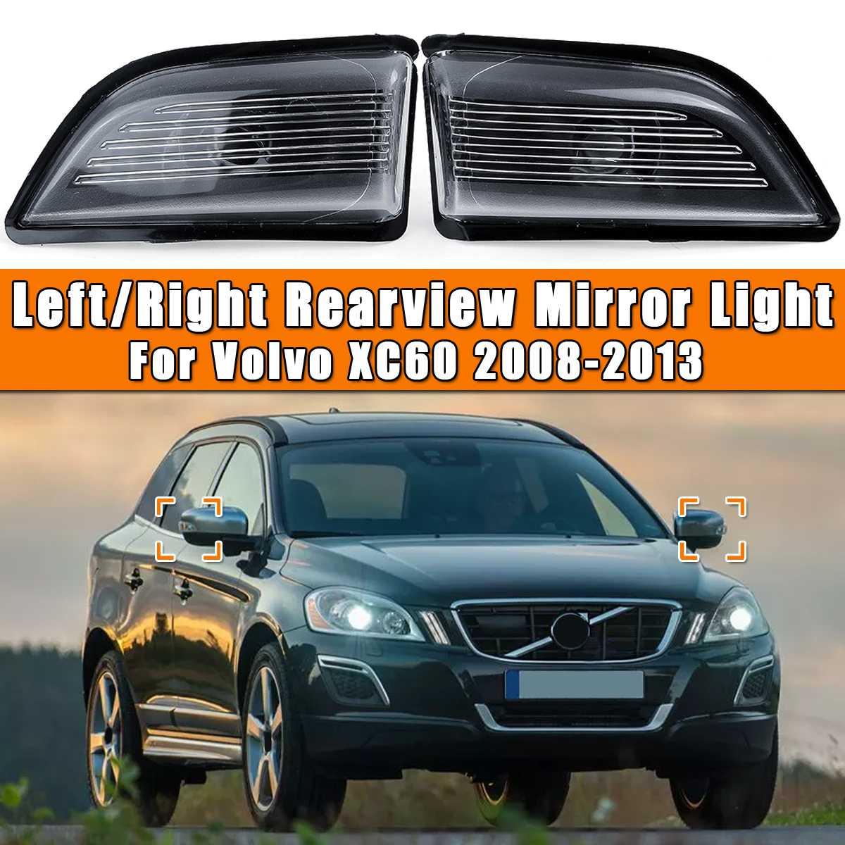 Feu de rétroviseur latéral pour Volvo XC60   2008 2009 2010 2011 2012 2013, feu de signalisation de rétroviseur de porte