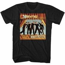NSYNC pas de cordes attaché noir adulte T-Shirt