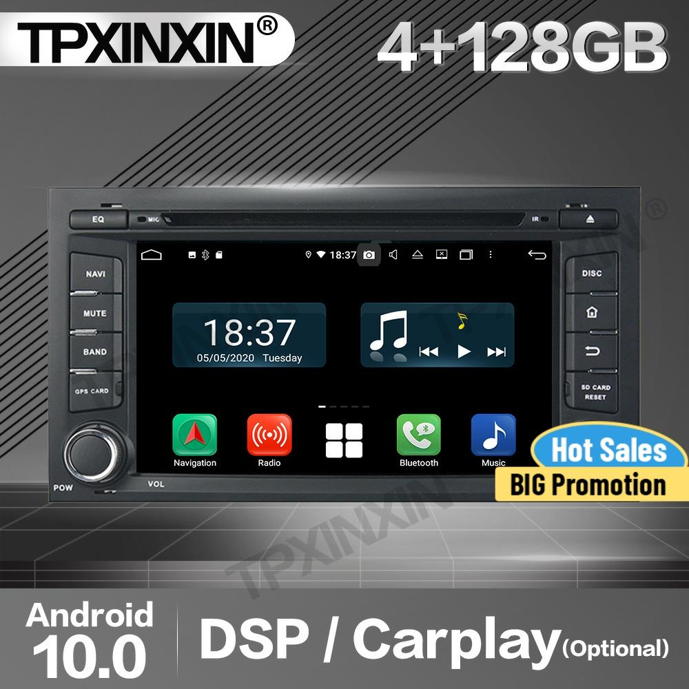 Review 128G Apple Carplay Car Radio 2 Din Stereo Receiver Android For Seat Leon 2014 IPS GPS Navigation Player Audio Recorder Head Unit