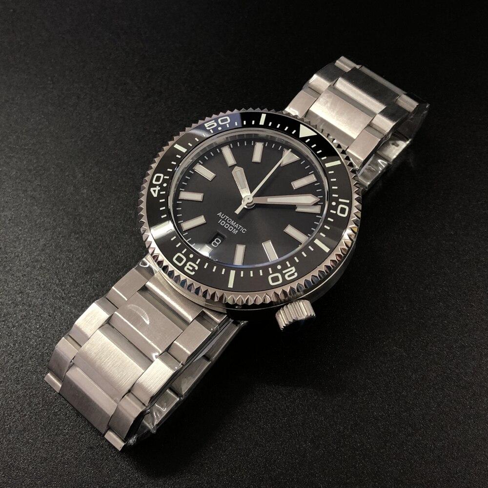 1000M Diver Watch Men NH35 Japan Tuna SKX007 Automatic 316L Stainless Steel Synthetic Sapphire ceramic Bezel C3 super luminous