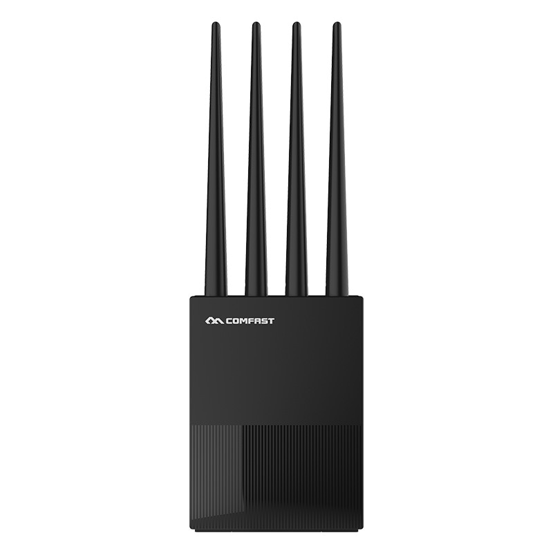 comfast cf wr617ac gigabit dual band ac1200 wireless router 5 8ghz wi fi router with 4 5dbi high gain antennas wider coverage COMFAST CF-WR617AC 1200Mbps 2.4G&5Ghz Dual-band Gigabit Enterprise Router Universal Industrial Wireless Router with 4 antennas
