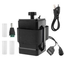 Bricolage 3x18650 26650 boîte de batterie mallette de rangement USB 5V DC 12.6V alimentation Mobile