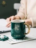 nordic ceramic mugs girl aesthetic home office fashion creativity mugs coffee luxury minimalist tazas originales mug bc50mkb