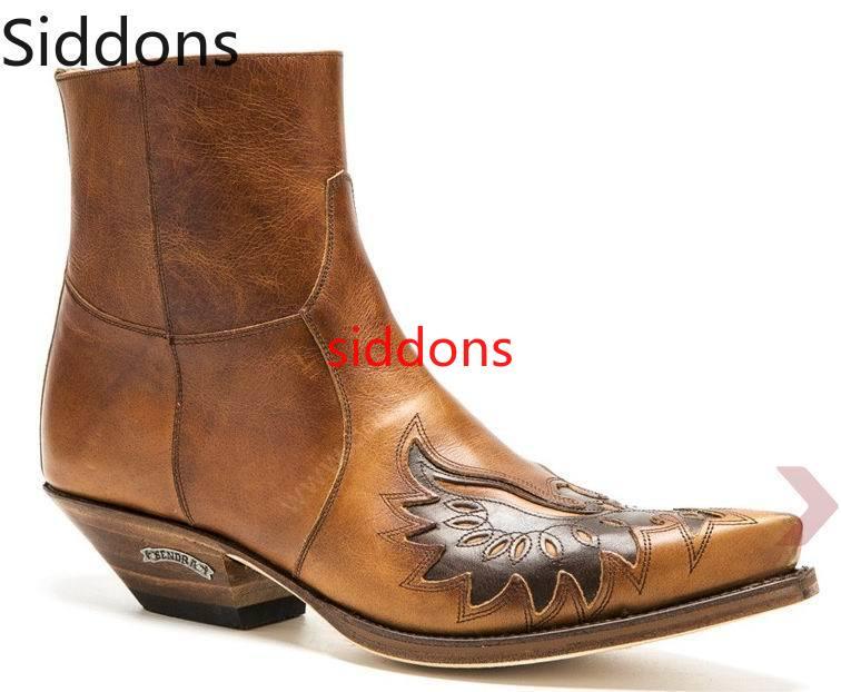الشتاء حذاء من الجلد حذاء رجالي يزين خمر الكلاسيكية الذكور حذاء دراجة نارية غير رسمي Zapatos دي Hombre أحذية أنيقة الرجال D92