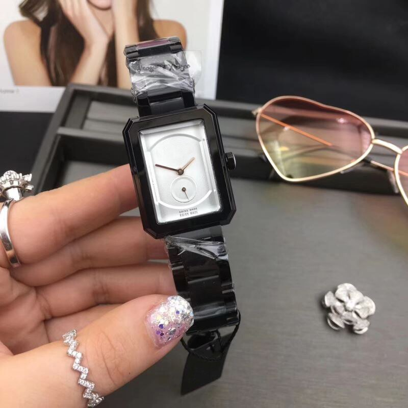 Rose Gold Watch Women Square Quartz Waterproof Lady Wristwatches Steel Band Top Brand Luxury Elegant aaa Watch Reloj de mujer enlarge