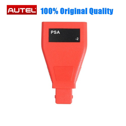 Autel psa 2pin conector para psa 2pin para peugeot 2pin e citroen 2pin trabalho para autel mk808 mk808ts mp808 mp808ts mk908 ms906