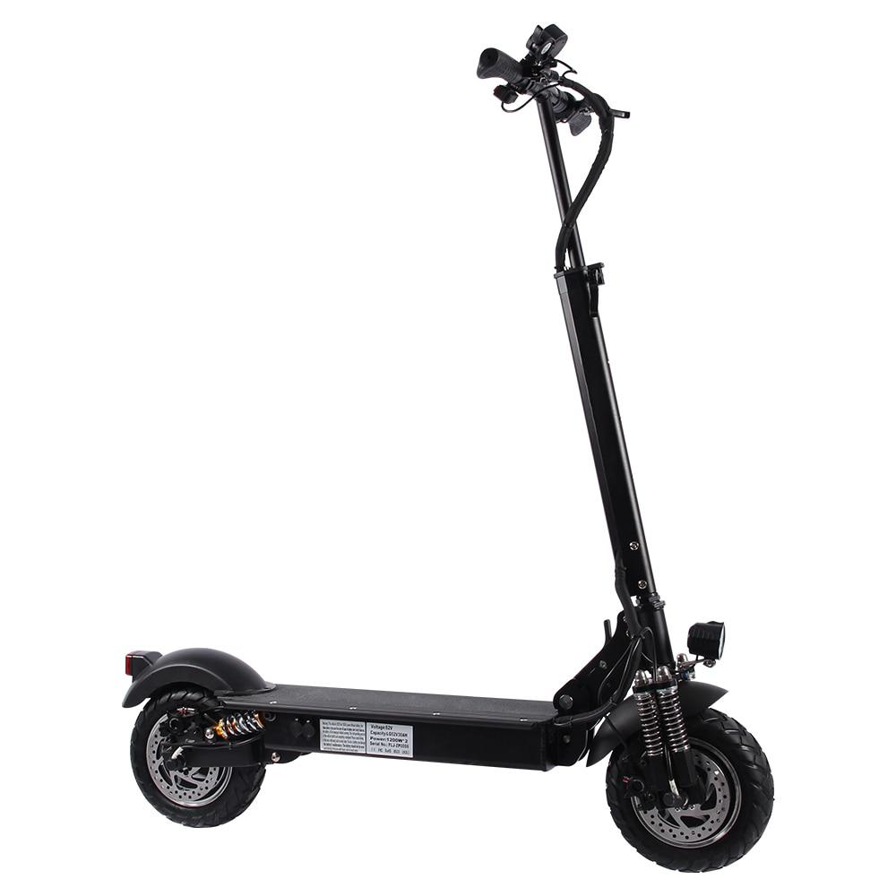 Scooters de movilidad eléctrica a la moda, motocicleta eléctrica patinete para adultos, dos ruedas, escúteres eléctricos plegables de 52V/2400W