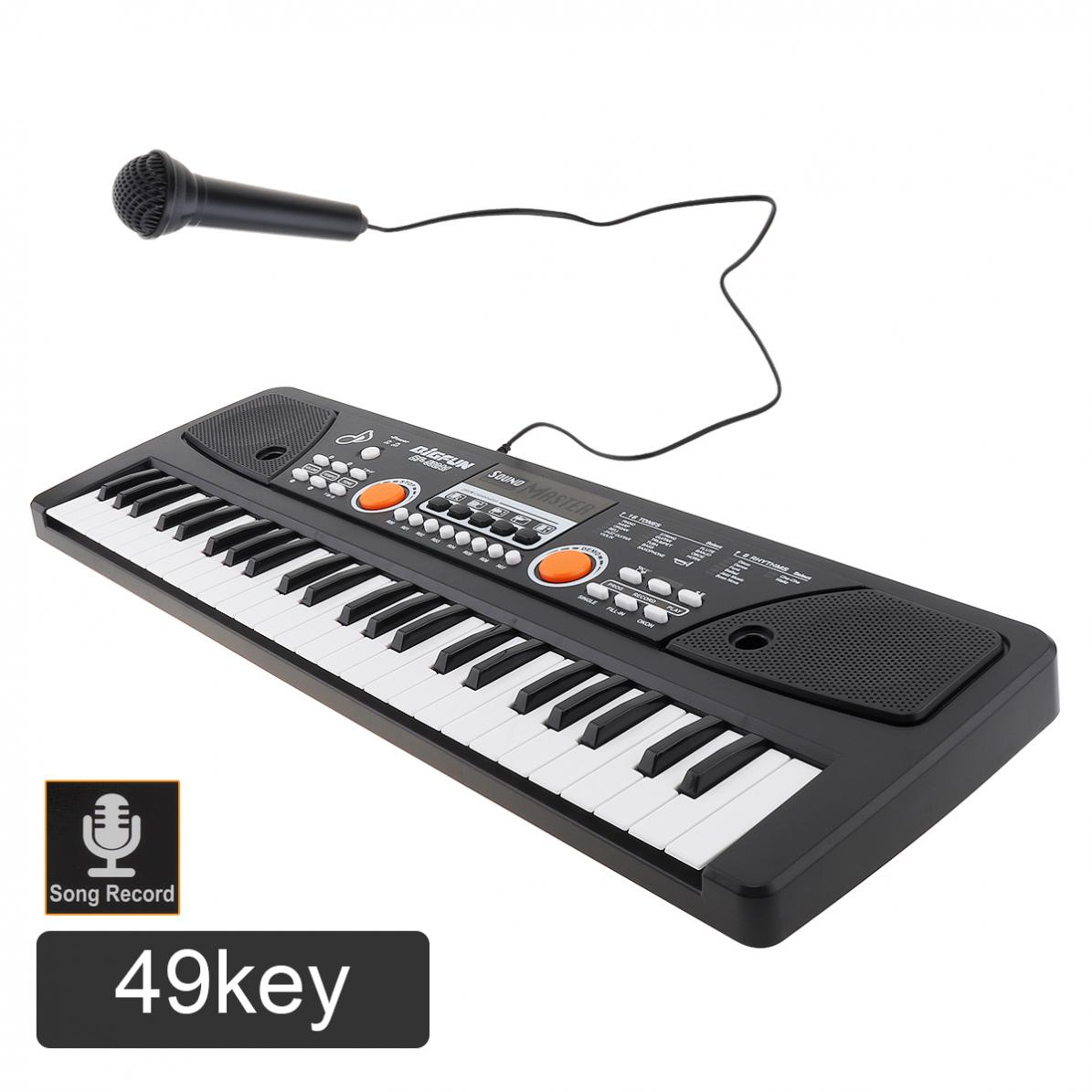 37 / 49 / 54/ /61 Keys Electronic Keyboard Piano Digital Music Key Board with Microphone Children Gift Musical Enlightenment enlarge