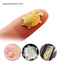 japanese money turtle asakusa temple small golden tortoise guarding praying for fortune home furnishing w0