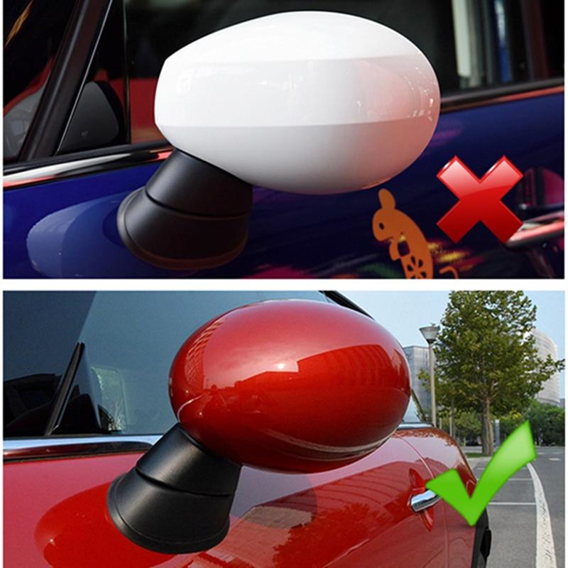 Car accessories exterior For MINI COOPER 2014-2019 F54 F55 F56 F57 F60 Car Rearview Mirror Decorative Sticker Protector Cover