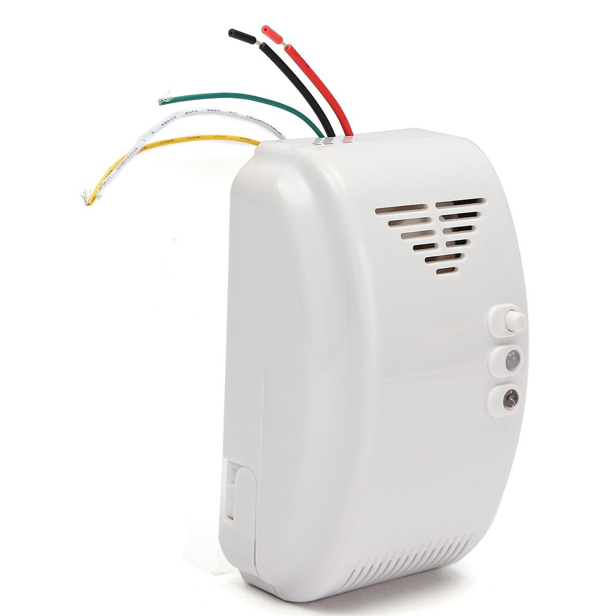 ESCAM 12V Gas Detector Sensor Alarm Propane Butane LPG Natural Motorhome For Home Alarm System Security enlarge