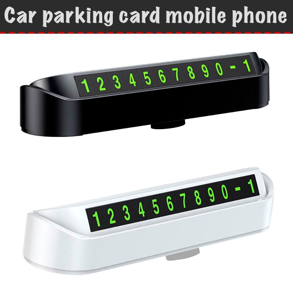 Автомобильная карточка с телефоном для временной парковки, автомобильные аксессуары для парковки, парковочная визитка