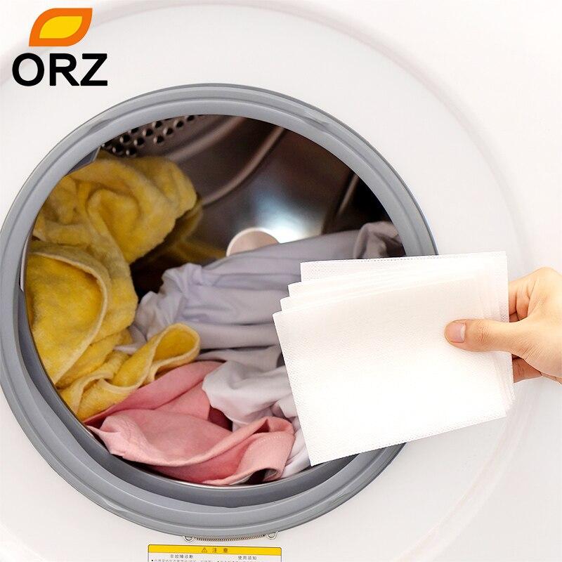 30 lavadoras de Color de la máquina de captación de uso mezclado a prueba de teñido de absorción de Color hoja de paño antiteñido de la colada de los papeles del Color Catcher