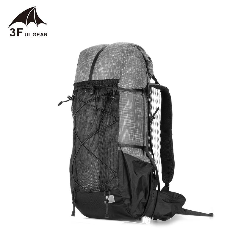 3F UL GEAR-حقيبة ظهر مقاومة للماء ، معدات التخييم الخفيفة ، تسلق الجبال ، السفر ، الرحلات ، 40 16 لتر