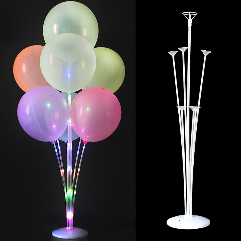 7/13/19Tubes Balloons Stand Balloon Holder Column Confetti Balloon Baby Shower Kids Birthday Party Wedding Decoration Supplies