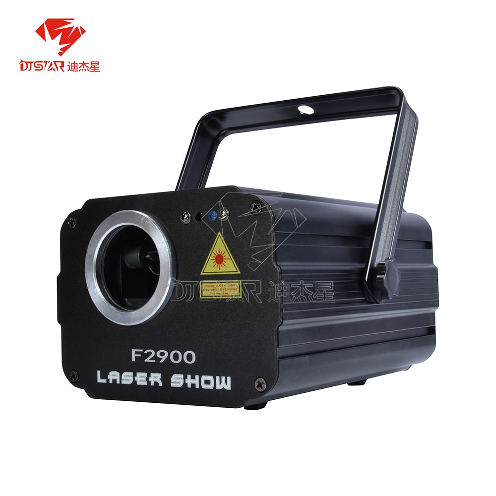 1800mW RGB DMX Animation Laser Projector DJ Disco Stage Lighting Effect Party Wedding Holiday Club Bar Scanner DJSTAR