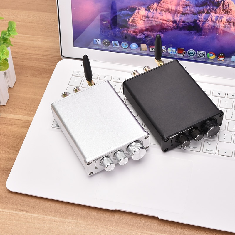 KYYSLB DC12 ~ 24v 50WX2 HIFI Fever Mini 5,0 Bluetooth amplificador TPA3116 estéreo Audio Subwoofer alta potencia amplificador 4 ~ 8 ohmios