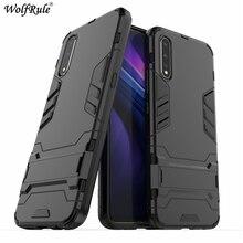 "Phone Case For Vivo V17 Neo Case Shockproof Rubber Silicon Armor Hard Cover For Vivo iQOO Neo Case Fundas For Vivo V17 Neo 6.38"""