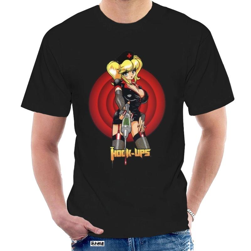 Vintage Haken Ups Skaterboard Sexy Anime T T Shirt Größe S M L Xl 2Xl Diy Prited T Hemd @ 029781