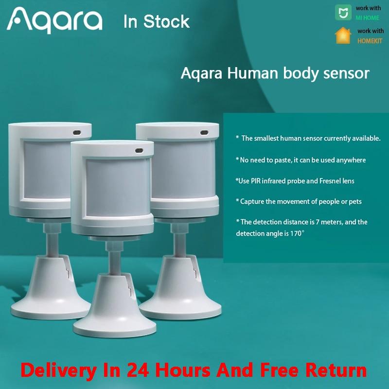 Aqara Human Body Sensor  Smart Wireless ZigBee Security Home alarm System Aqara Motion Sensor For Xiaomi Mijia MiHome Homekit