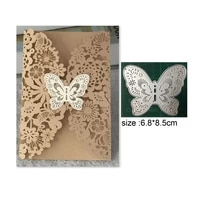 butterfly card scrapbook metal dies stencil template for diy embossing photo paper album greeting card gift decor dies cut