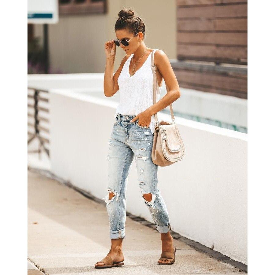 Уличные хипстерские брюки, прямые брюки, женские брюки, женские брюки, джинсы с высокой талией, женские брюки с высокой талией