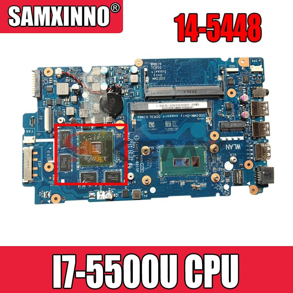 Akemy لديل 14-5448 5448-14MR اللوحة المحمول 14 بوصة SR23W I7-5500U CPU R7 M265 GPU CN-0VW3X0 0VW3X0 ZAVC1 LA-B015P