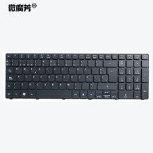 Испанская клавиатура для ноутбука Acer Aspire 5740 5810T 7735 7551 p5we0 5336 5410 5536 5536G 5738 5738g 5810 5252 5742G 5742Z SP