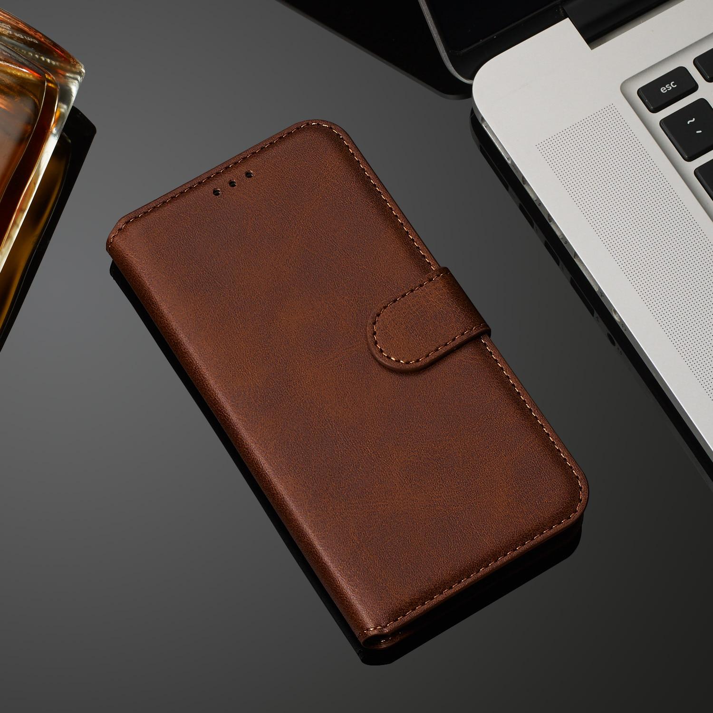 Retro Funda de cuero para Samsung Galaxy A10 A10S A20 A20S A20E A30 A30S A40 A40S A50 A50S A01 A21 A11 A41 A51 A71 A81 cartera caso