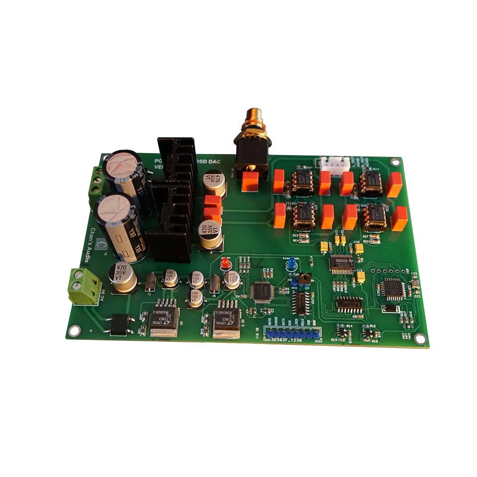 Pcm1792 dsd dac decodificar ak4118 entrada de iis coaxial do circuito de recepção digital