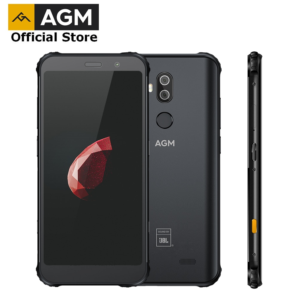 Смартфон AGM X3, 8+64Гб, батарея 4100 мАч, камера 13.1 Мп, экран 5,99дюйм