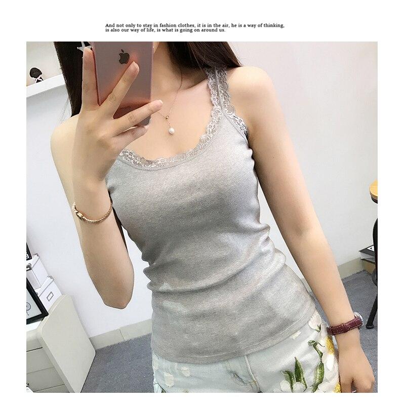 Camisetas negras sin mangas de verano para mujer de camiseta sin mangas...